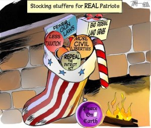 Stocking stuffers for real patriots